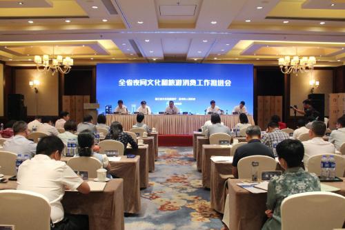 浙江省全省夜间文化和旅游消费工作推进会在温州召开