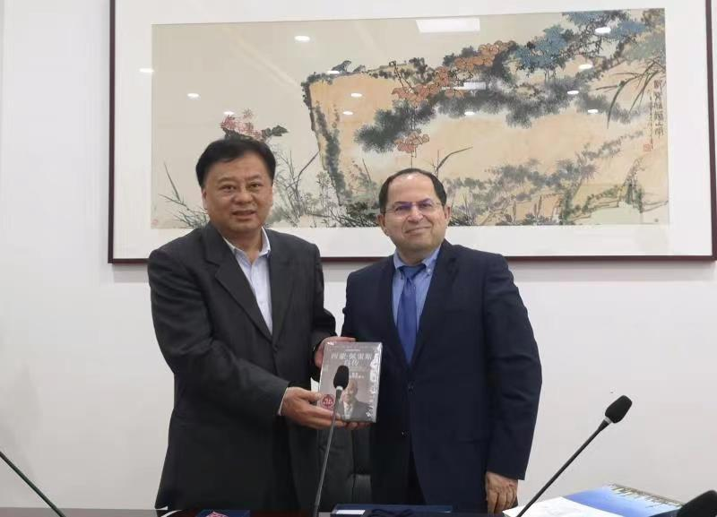 许澎副厅长会见以色列驻上海总领事一行